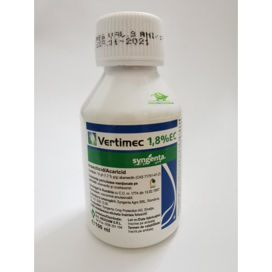 Vertimec 1,8 % EC - 100 ml.
